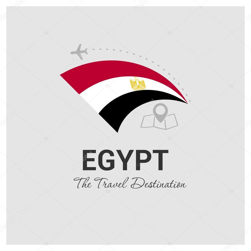 Egypt Travel Logo Vector Image By C Ibrandify Vector Stock 93743942