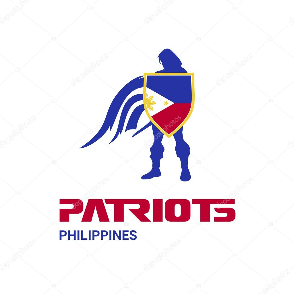Philippines Patriots Concept Stock Vector Ibrandify 93834856