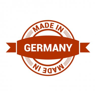 Made in Germany vintage stamp