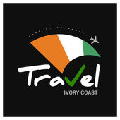 Ivory Coast travel company logo