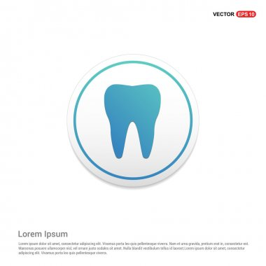 Tooth Icon - abstract logo type icon