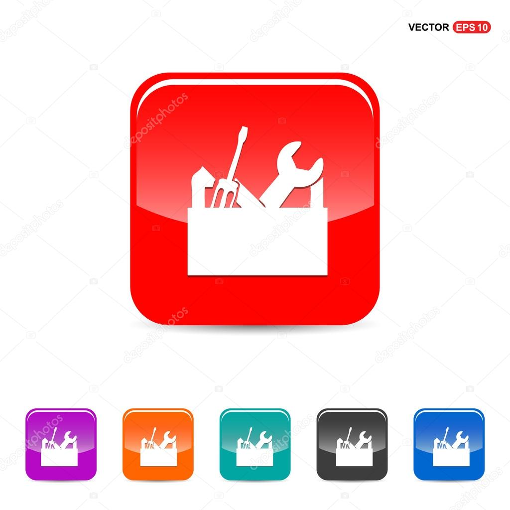 Repair Toolbox with Tools icon