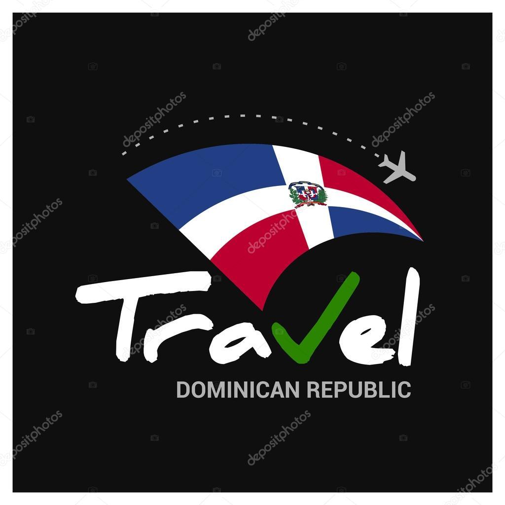 Travel Dominican Republic Symbol Stock Vector Ibrandify 93967208