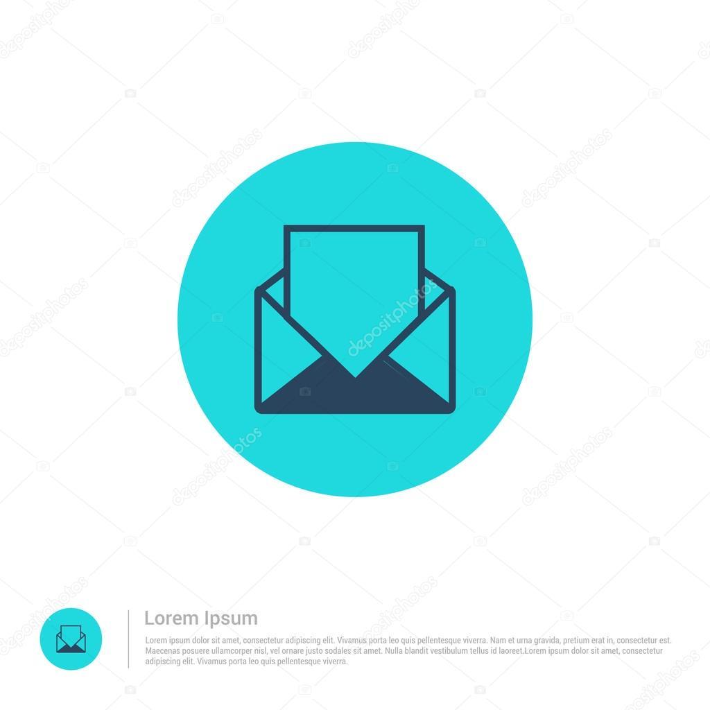 Email Template Icon Stock Vector C Ibrandify 93969620