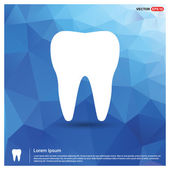 Fotografie Tooth Icon - abstract logo type icon