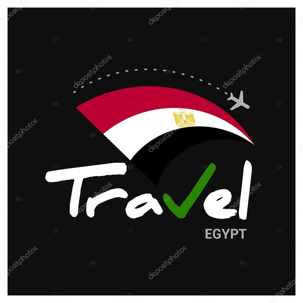 Egypt Travel Company Logo Vector Image By C Ibrandify Vector Stock 93970488