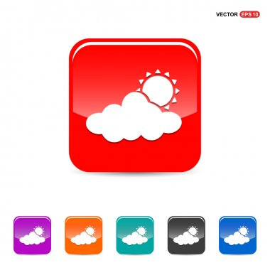 Sun Cloud Weather Icons