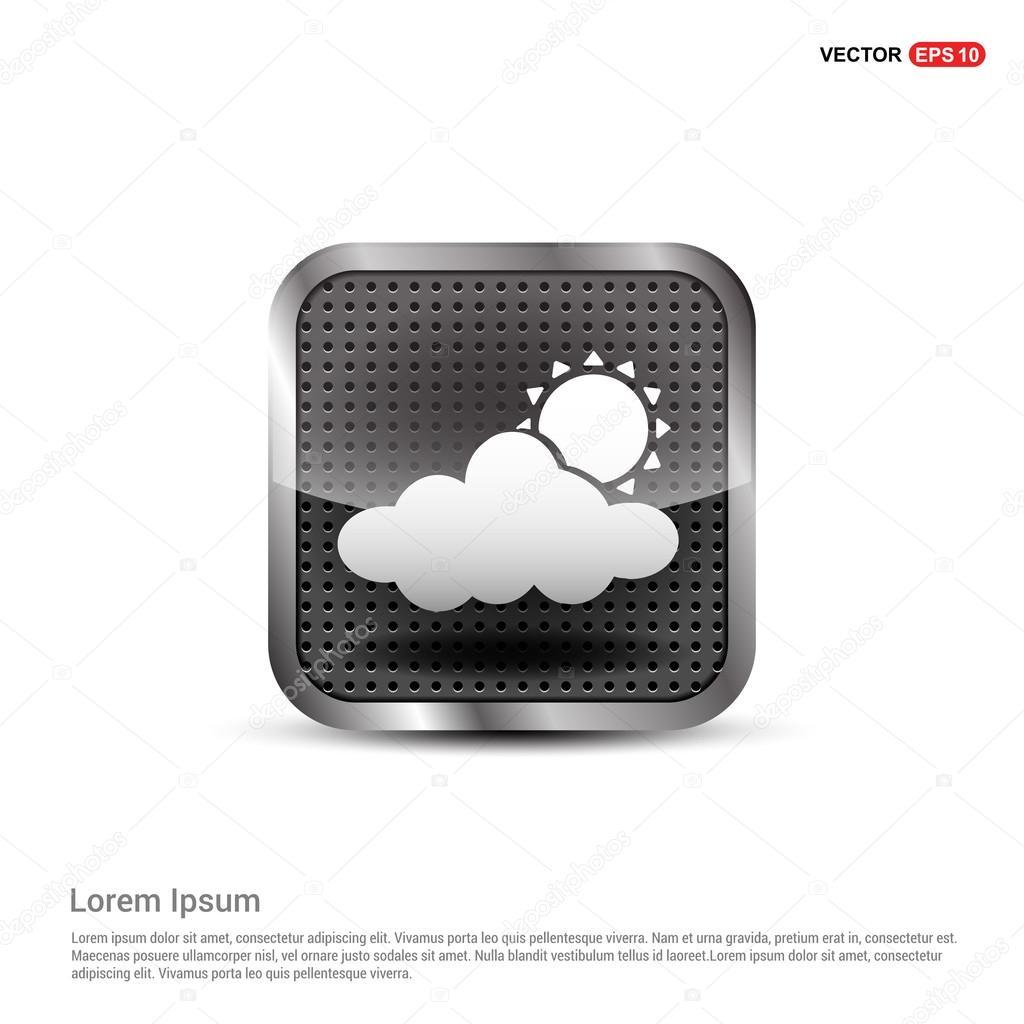 Sun Cloud Weather Icon