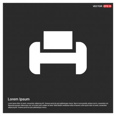 Printer icon, pictogram