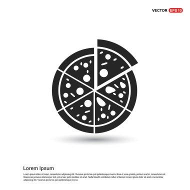 classic pizza icon