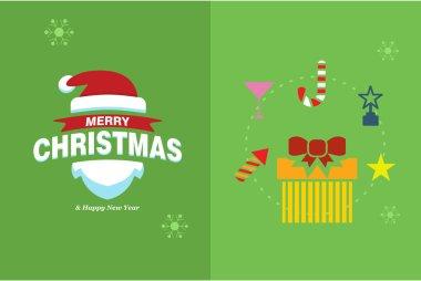 Merry Christmas Horizontal card