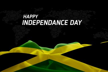 Jamaica Independence Day card