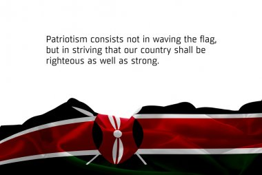 Kenya Independence Day card