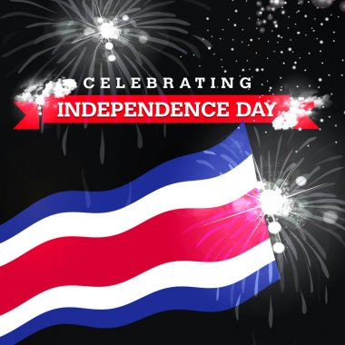 Costa Rica Independence Day card