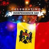 Fotografia Scheda di giorno di indipendenza Moldavia