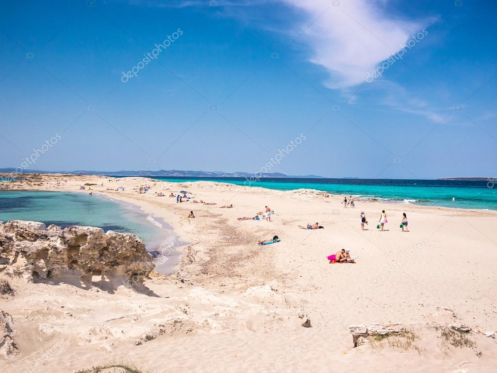 playa de ses illetes strand