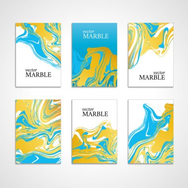 Marble color texture card background