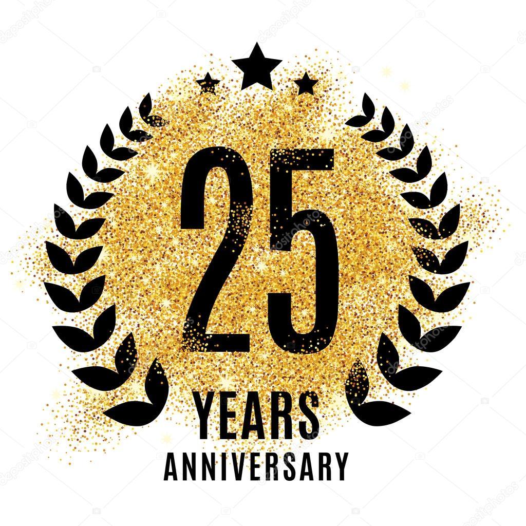 ᐈ 25 anniversary logo stock images, Royalty Free 25 years logo ...