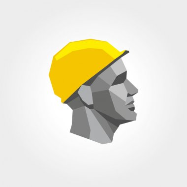 Worker man head3
