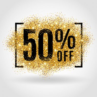 Gold sale 50 percent
