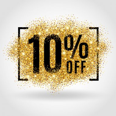 Gold sale 10 percent