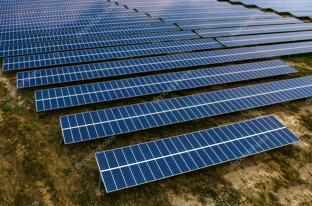 Solar panels, solar farms