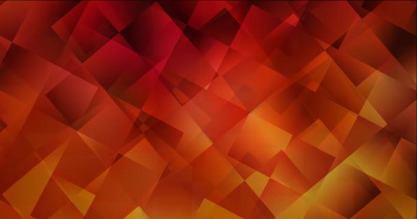 4K smyčka tmavě červené tekoucí video s obdélníky. Moderní abstraktní animace s přechodovými obdélníky. Průběžný design pro prezentace. 4096 x 2160, 30 fps.