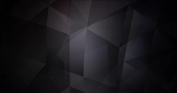 4K hurok sötétszürke absztrakt videó minta. Színes absztrakt videoklip gradienssel. Villanás a tervezőknek. 4096 x 2160, 30 fps. Codec Photo JPEG.