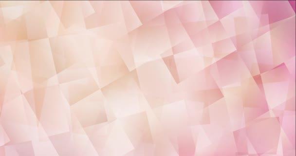 4K hurok világos rózsaszín, sárga videó minta téglalap alakú stílusban.