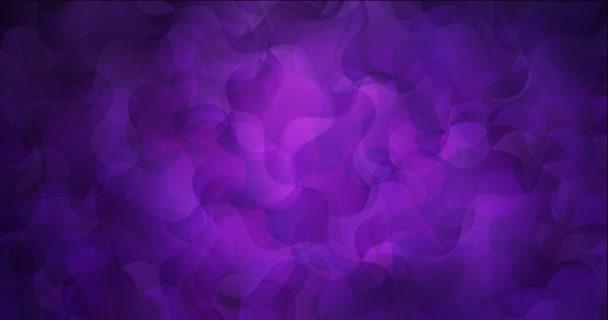 4K hurok sötét lila absztrakt animáció vonalakkal.
