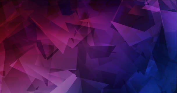 4K smyčka tmavě modrá, červená animovaná pohyblivá prezentace.