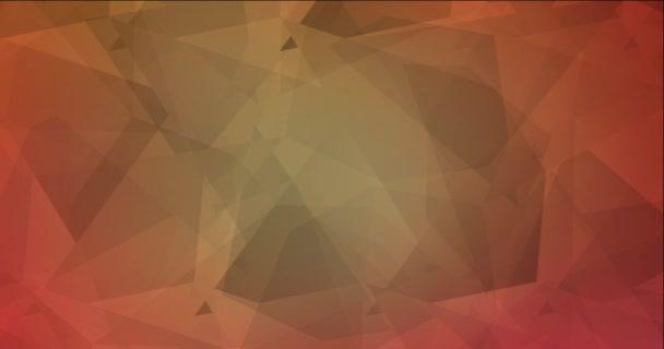 4K hurok világos piros, sárga absztrakt videó minta.