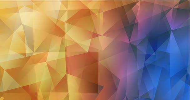 4K smyčka světle modrá, žlutá animované pohyblivé slideshow.
