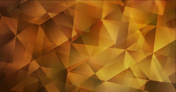 4K smyčka tmavě oranžový abstraktní video vzorek.