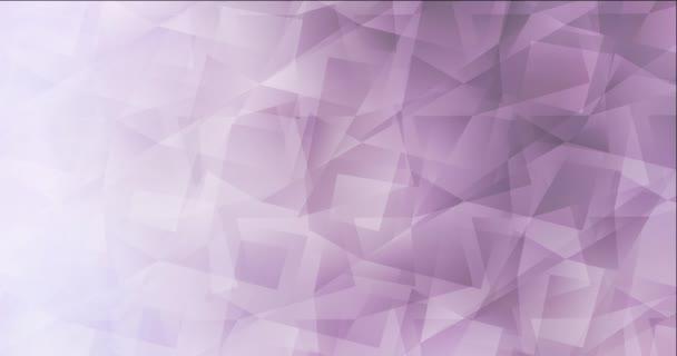 4K looping light lila videó poligonális anyagokkal.