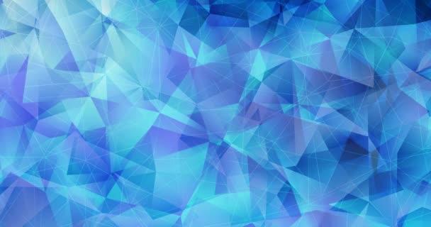 4K smyčka světle modrý abstraktní video vzorek.