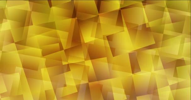 4K hurok sötétsárga felvétel sokszögletű stílusban.