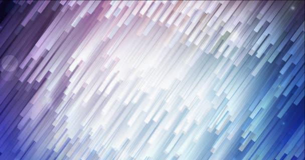 4K smyčka tmavě růžové, modré video záběry s plochými liniemi.