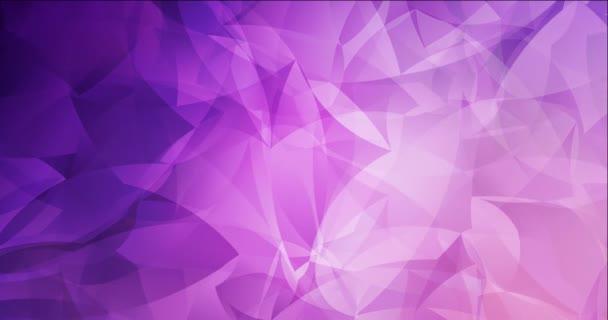 4K hurkoló fény lila, rózsaszín áramló videó absztrakt formájú.