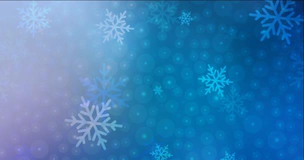 4K smyčka vícebarevné video s motivem Vánoc. Moderní abstraktní animace s přechodem. Klip pro mobilní aplikace