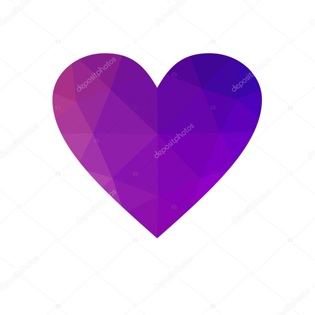 Purple heart isolated on white background stock photo smaria purple heart isolated on white background stock photo buycottarizona