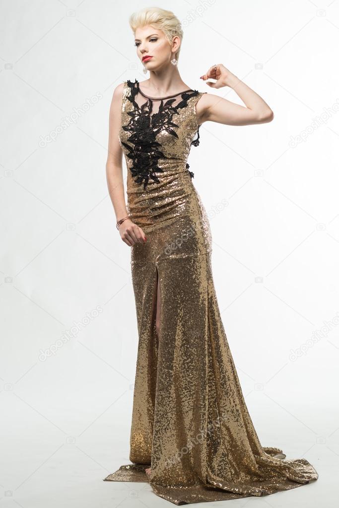 a43d8b18ae3b1 Abito lungo moda donna bellezza