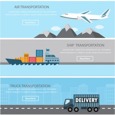 transportation infographics element
