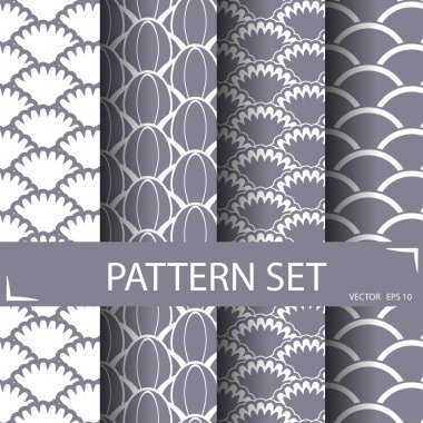 waves pattern set