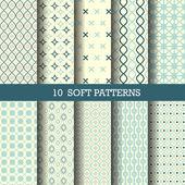 Fényképek 10 perfect blue patterns