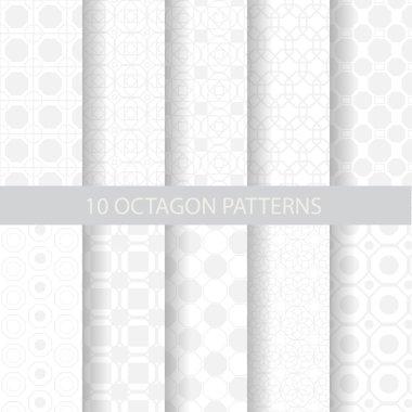10 soft octagon patterns