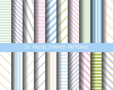 20 striped patterns