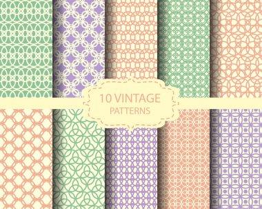 10 soft gray patterns