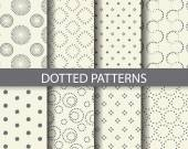 8 perfect dotted patterns