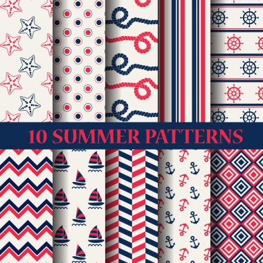 10 different summer patterns
